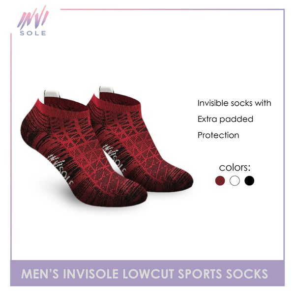 Burlington XMVS9403 Men's Invisole Low Cut Socks