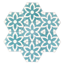 Load image into Gallery viewer, Fleur (cement tile)