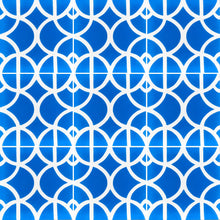 Load image into Gallery viewer, blue and white tile-floor tile-moroccan cement tiles uk - bathroom tiles-  moroccan cement tiles uk