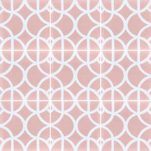 Load image into Gallery viewer, Lotus (Cement Floor Tile) pink tile-floor tile-moroccan floor tile- Maria Starling Design