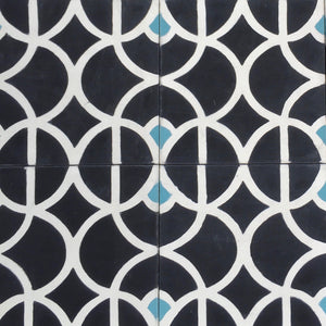 Lotus (Cement Floor Tile) -kitchen cement floor tile-bathroom tile- Maria Starling Design
