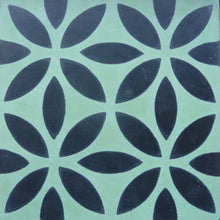 Load image into Gallery viewer, Oasis (Cement Tile) cement floor tile-kitchen floor tile-green tile- Maria Starling Design