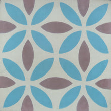 Load image into Gallery viewer, Oasis (Cement Tile) blue floor tile-bathroom tile-encaustic tile- Maria Starling Design