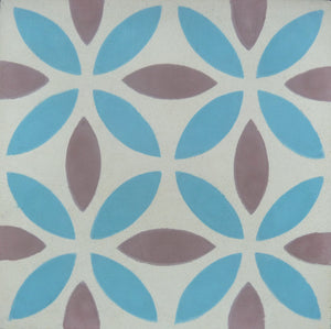 Oasis (Cement Tile) blue floor tile-bathroom tile-encaustic tile- Maria Starling Design