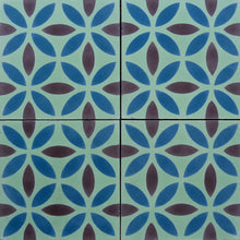 Load image into Gallery viewer, Oasis (Cement Tile) bathroom floor tiles-encaustic cement tile- Maria Starling Design
