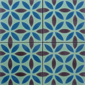 Oasis (Cement Tile) bathroom floor tiles-encaustic cement tile- Maria Starling Design