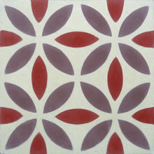 Load image into Gallery viewer, Oasis (Cement Tile) purple tile-floor tile-wall tiles- Maria Starling Design
