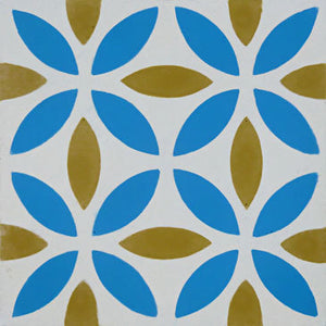 Oasis (Cement Tile) moroccan floor tile-kitchen floor tiles- Maria Starling Design