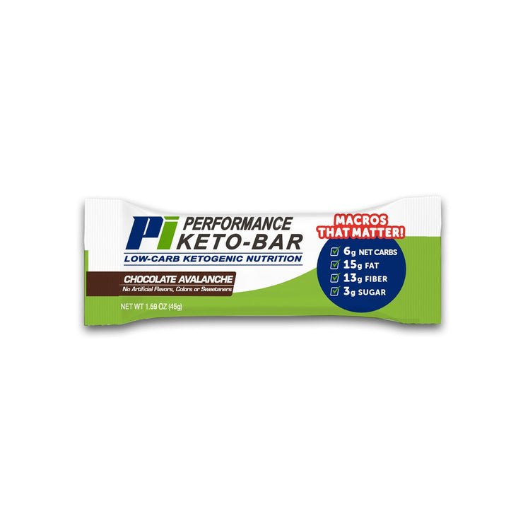Performance Inspired (PI) | Performance Keto Bars (12 bars)