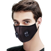 Double Breathing Valve Adjustable Face Mask