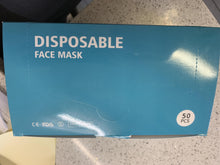 Load image into Gallery viewer, Disposable Face Masks 50/box