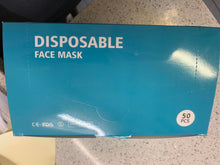 Load image into Gallery viewer, Disposable Face Masks 50/bx Bulk Pack (4) 200each