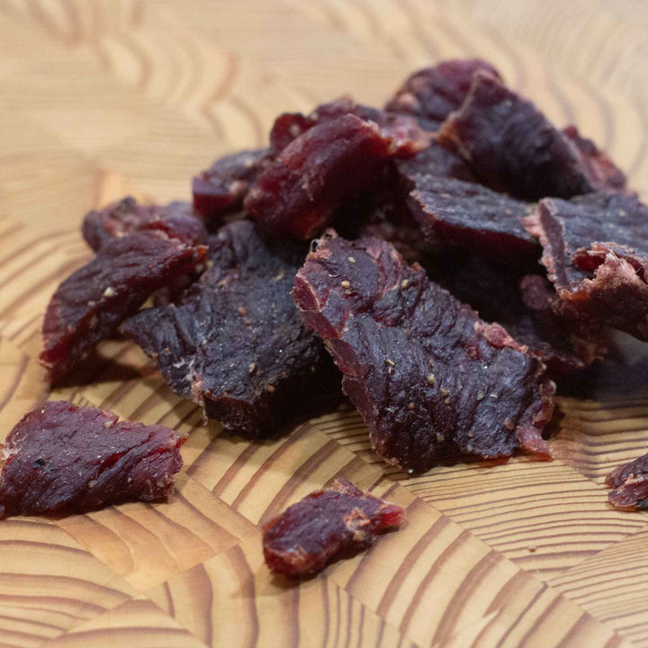 Peppered Hickory Smoked Beef Jerky