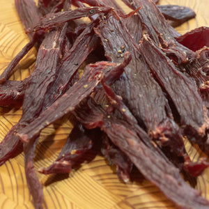 Peppered Mesquite Smoked Beef Jerky