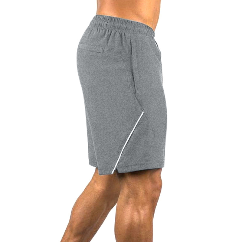 Kobrelms-Bottoms-Men's Athletic Shorts-Grey / S