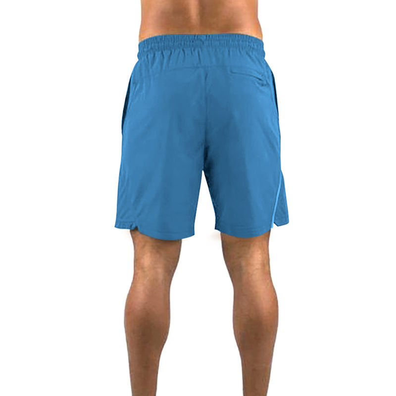 Kobrelms-Bottoms-Men's Athletic Shorts-Blue / S