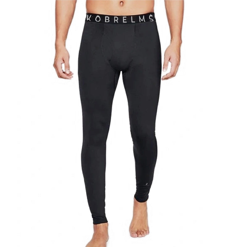 Kobrelms-Bottoms-Men's Thermal Compression Pants (Available FEBURARY 2021)-Black / S