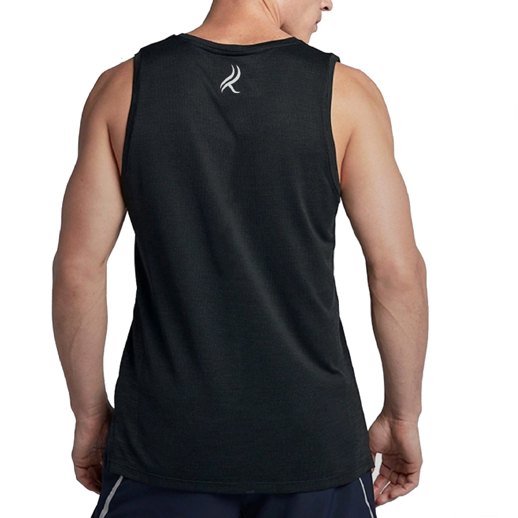 Kobrelms-Men Tank Tops and Shirts-Men's Active Tank Top-Black / S
