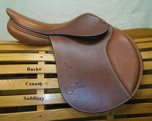 "17"" M DelGrange PJ Light Flat - NEW SADDLE, CLEARANCE PRICED"