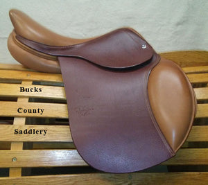 "15.5"" M Bruno Delgrange Premiere Pony - NEW SADDLE, CLEARANCE PRICED"