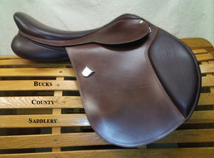 "18"" M Bates Caprilli with Free Leathers"