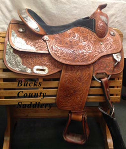 "17"" SQHB Western Saddle - OUT ON TRIAL, CALL STORE FOR AVAILABILITY"