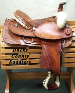 "15"" SQHB Western Saddle - OUT ON TRIAL, CALL STORE FOR AVAILABILITY"