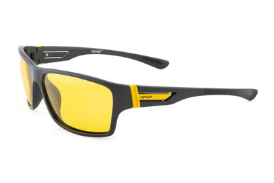 Night driving sunglasses. Glasses that reduce glare and eliminate blinding lights at night. Polarized sunglasses.