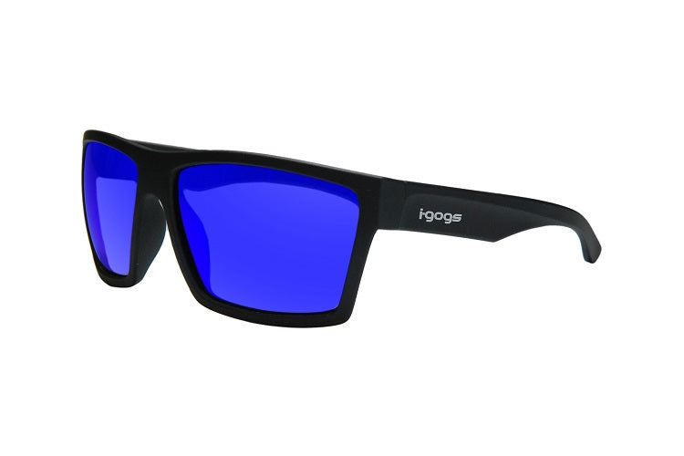 Fishing sunglasses that are polarized with colored lenses.