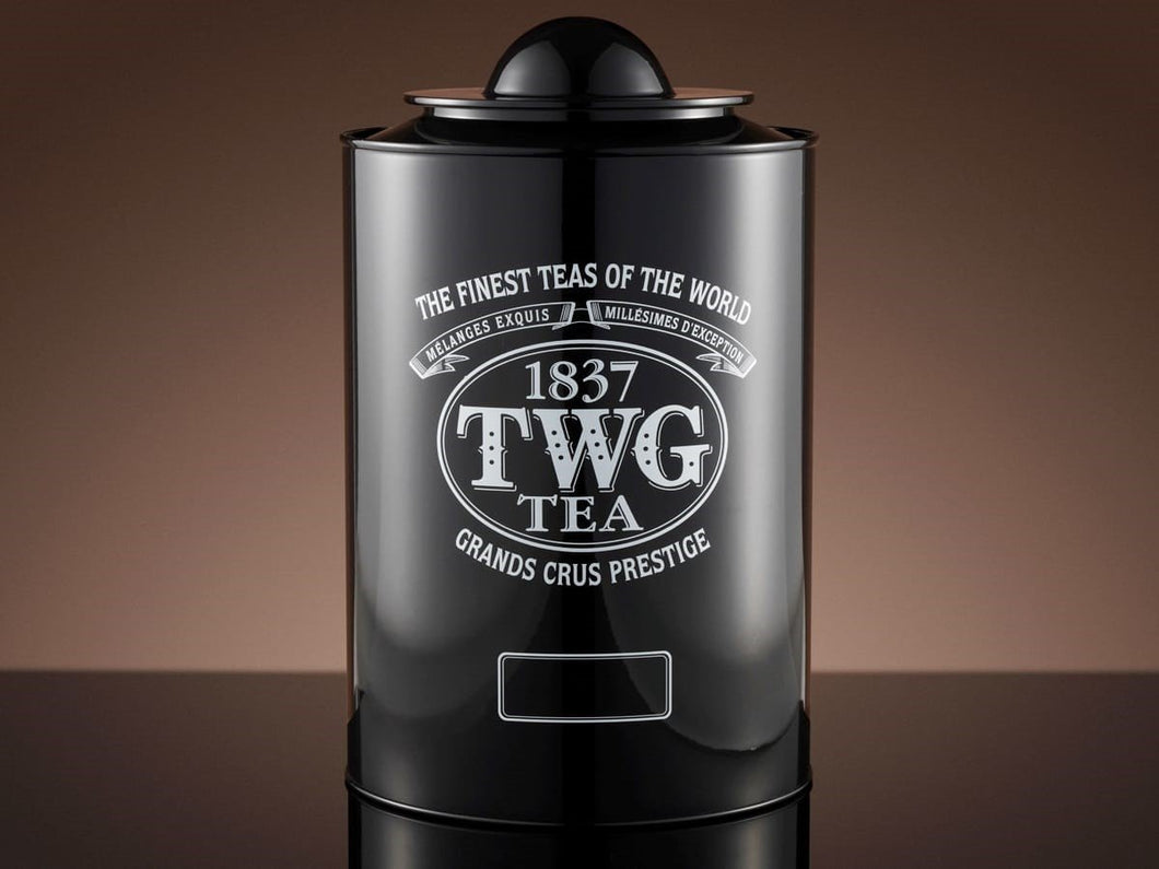 TWG Tea Tea Accessories Saturn Tea Tin in Black