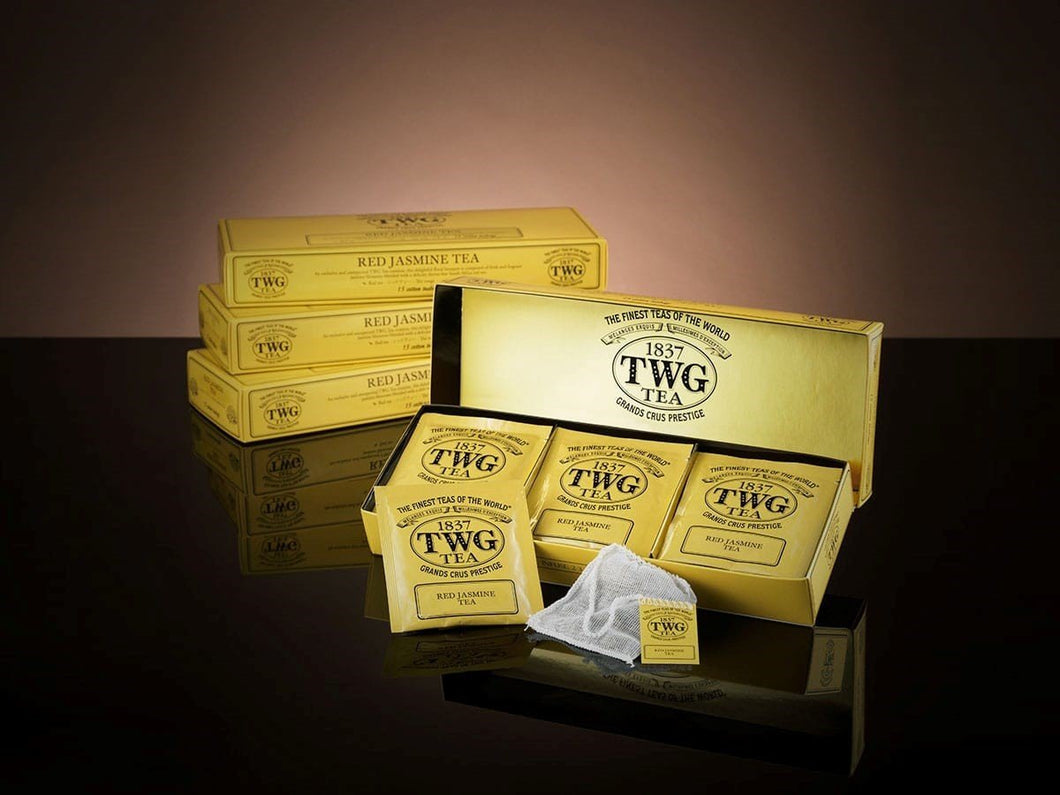 TWG Tea Teabags Red Jasmine Tea 15 PC