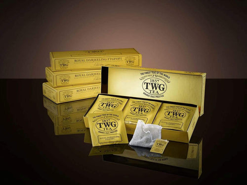 TWG Tea Teabags Royal Darjeeling FTGFOP1 Tea 15 PC