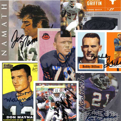 Autographed Football Cards