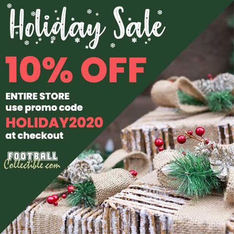 Autographed Collectibles Holiday Sale