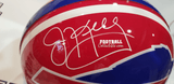 Autographed Full Size Helmets Jim Kelly Autographed Authentic Buffalo Bills Helmet