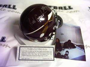 Autographed Mini Helmets Rod Gardner Autographed Arrow Mini Helmet