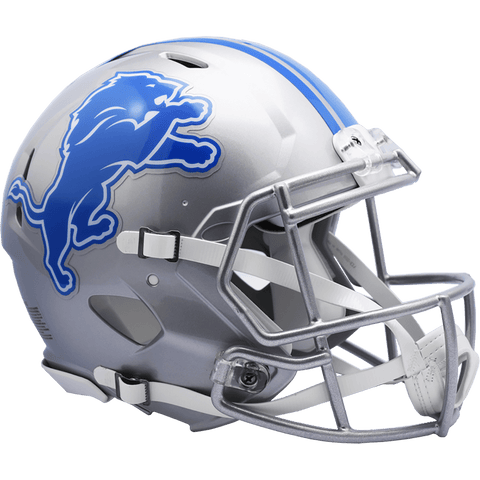 Full Size Helmets Detroit Lions Riddell Speed Authentic Helmet