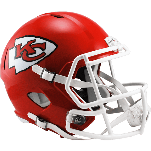 Full Size Helmets Kansas City Chiefs Riddell Replica Speed Helmet