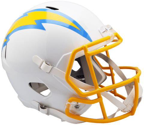 Full Size Helmets Los Angeles Chargers Riddell Replica Speed Helmet