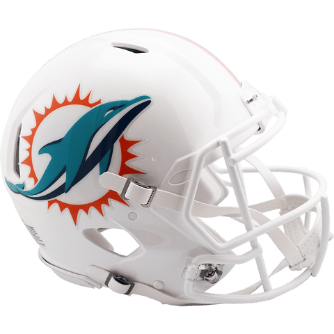 Full Size Helmets Miami Dolphins Riddell Speed Authentic Helmet