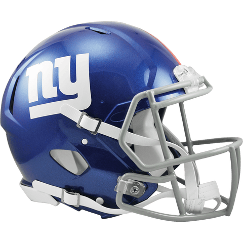 Full Size Helmets New York Giants Riddell Speed Authentic Helmet