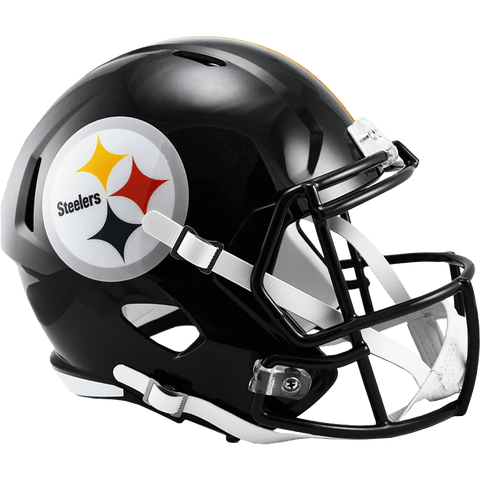 Full Size Helmets Pittsburgh Steelers Riddell Replica Speed Helmet