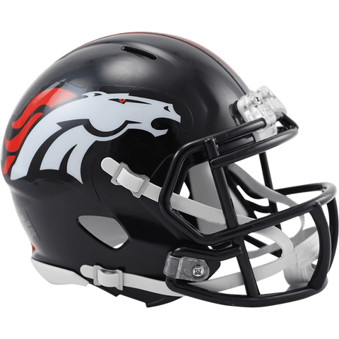 Mini Helmets Denver Broncos Riddell Mini Speed Helmet