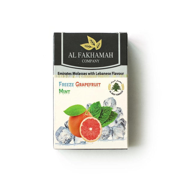 Al Fakhamah Freeze Grapefruit Mint Hookah Tobacco 50g