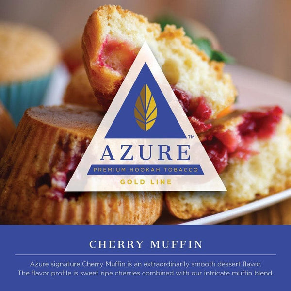 Azure Gold Line Cherry Muffin 100g