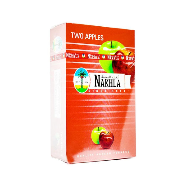 Nakhla Two Apples Hookah Tobacco 250g