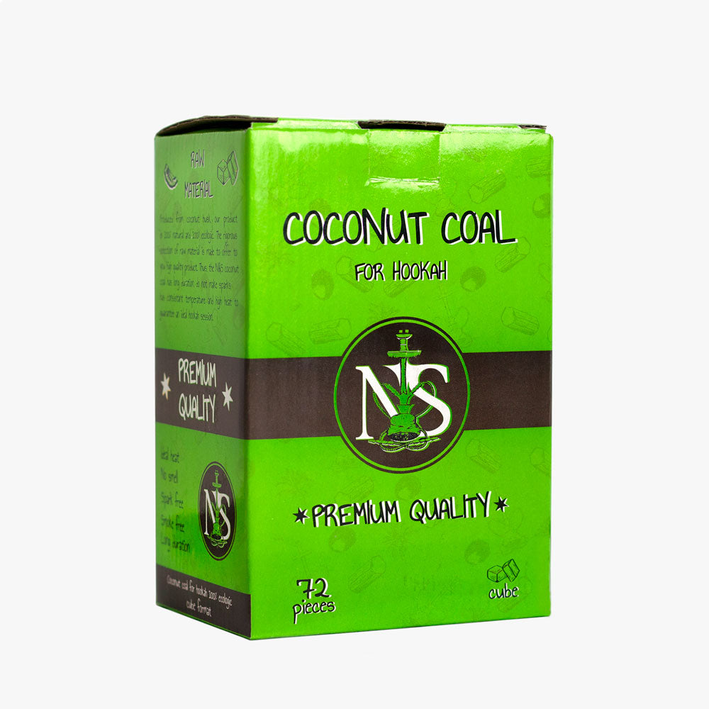 N&S Coconut Charcoal for Hookah