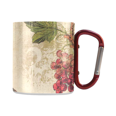 Image of Aluminum D-Ring Cup, Bird, Classic Insulated Mug (10.3 OZ) - Pitgnarf Shops
