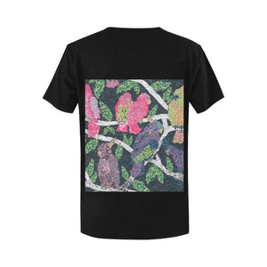 Classic Women's Colorful Birds T-shirt - Pitgnarf Shops