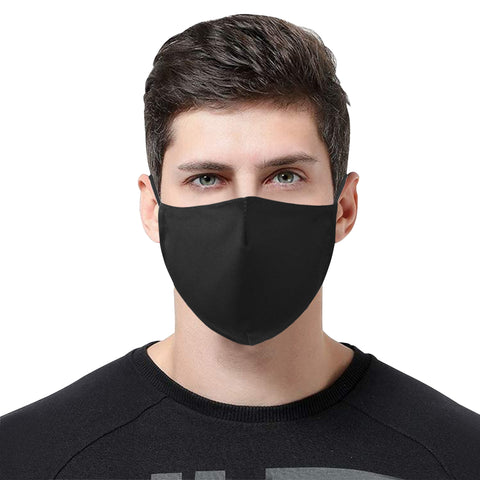 Image of Cotton Fabric Dust Mask With Adjustable Strip and 15 Filters - Pitgnarf Shops